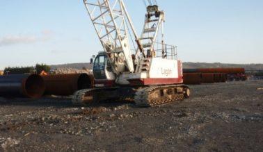 CKE700 – 70ton Crawler crane