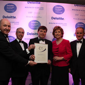 Deloitte Best Managed Company Award - 2009