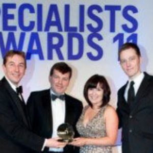Construction News - Specialist Award Winner - 2011