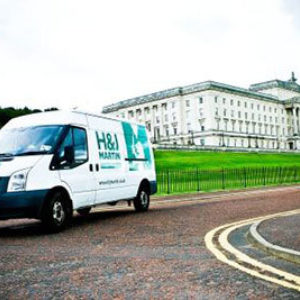 FM win Maintenance Contract on Stormont Estate - 2003