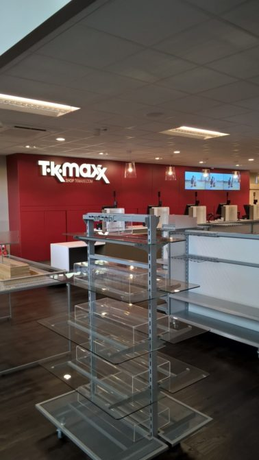 TK Maxx Fit Out Store Delivered