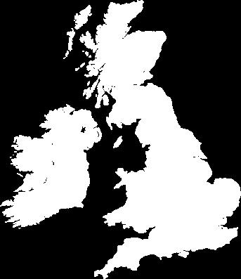 Region Map including UK, NI & RoI